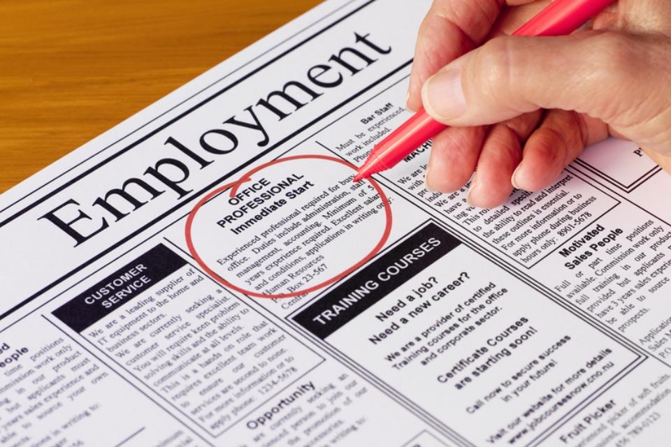 Seek Employment