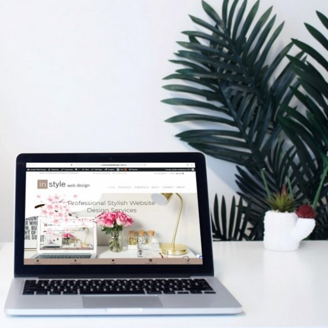 in style web design
